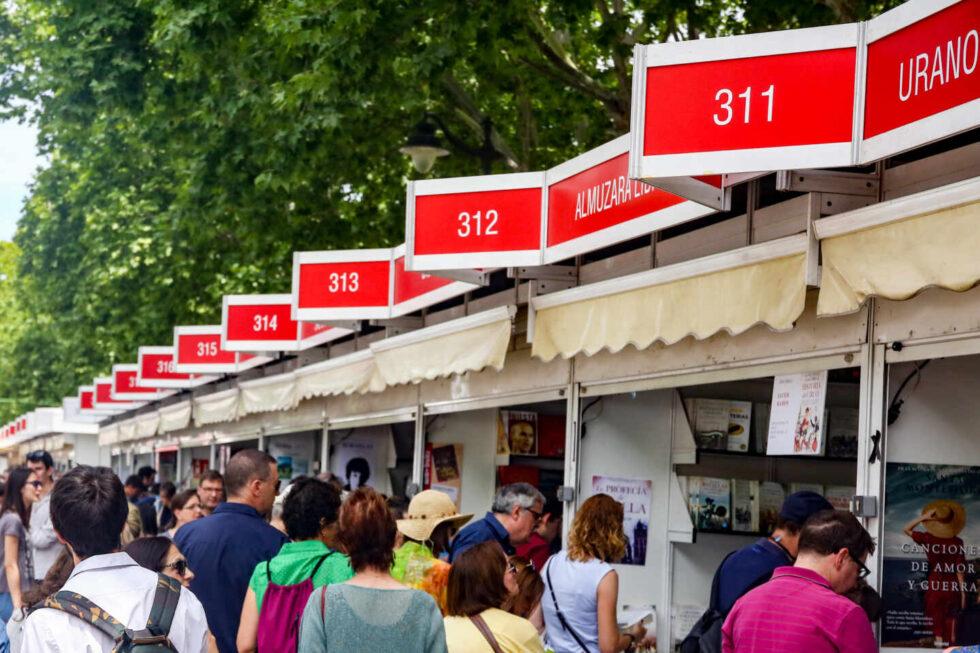 Recursos de la Feria del Libro de Madrid