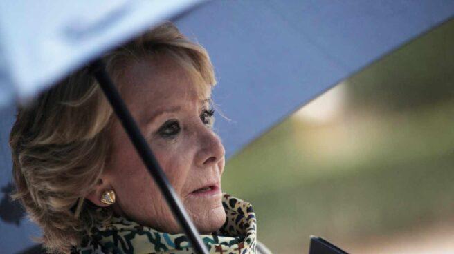 La expresidenta de la Comunidad de Madrid Esperanza Aguirre