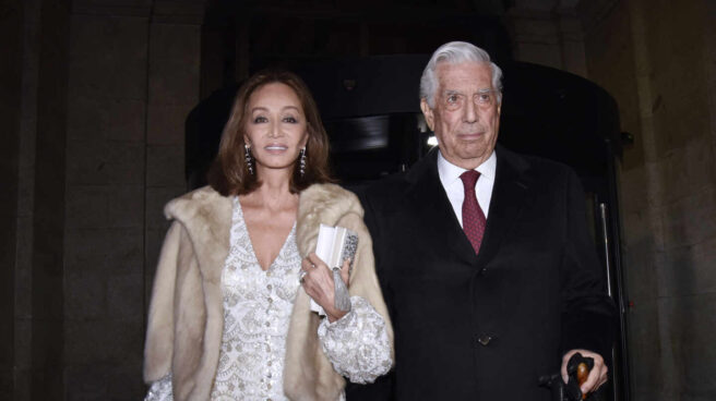 Isabel Presyler y Mario Vargas Llosa.