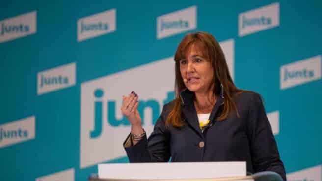 La candidata de JxCat a la Generalitat, Laura Borràs