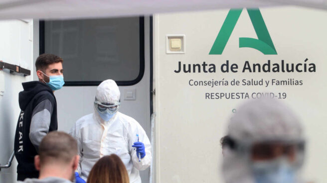 Test de antígenos en Málaga.