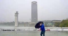 El tiempo hoy viernes, precipitaciones fuertes en Andalucía y el área del Estrecho