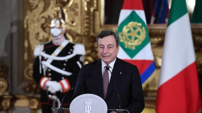Draghi forma un gobierno de unidad nacional con técnicos en puestos clave