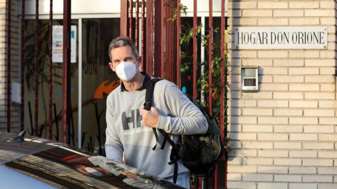 Iñaki Urdangarin continúa con su trabajo en 'Hogar don Orione' a pocos días de su traslado a Vitoria, en Pozuelo de Alarcón (Madrid)