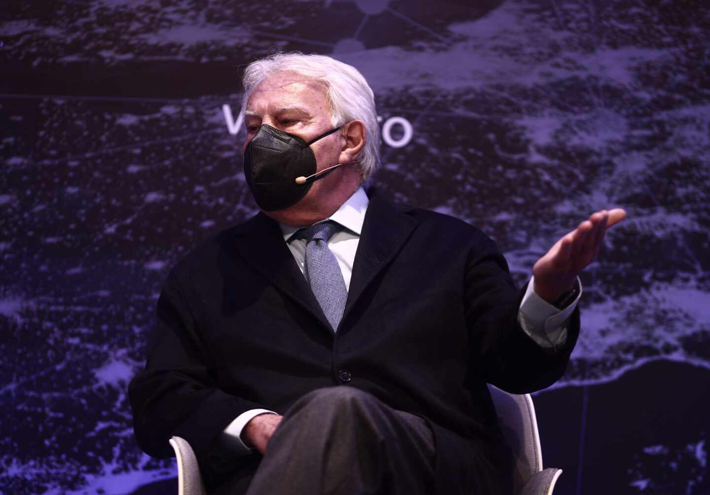 Felipe González, en el Euroforo de Vocento.