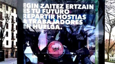 Un sindicato de la Ertzaintza denuncia a Ernai por un delito de odio