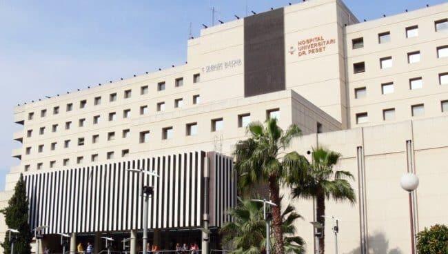 Hospital Doctor Peset, en Valencia.
