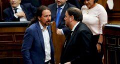 Moncloa y PSOE acusan a Iglesias de hacer campaña a favor de ERC en contra de Illa