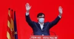 Salvador Illa, tras las elecciones de Cataluña