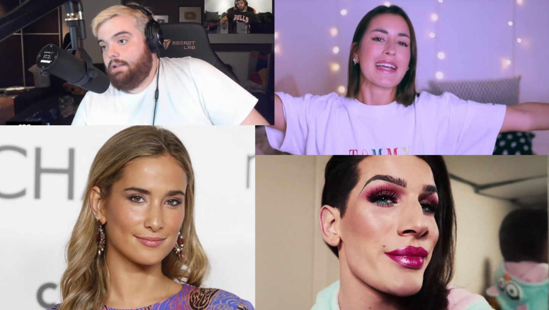 María Pombo, Ibai Llanos, Paula Gonu y Oto Vans.Influencers de Instagram