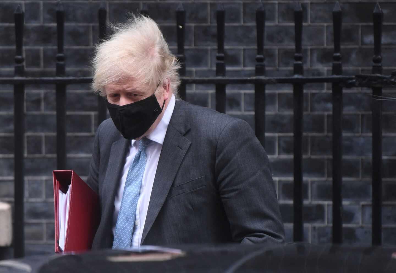 El primer ministro Boris Johnson