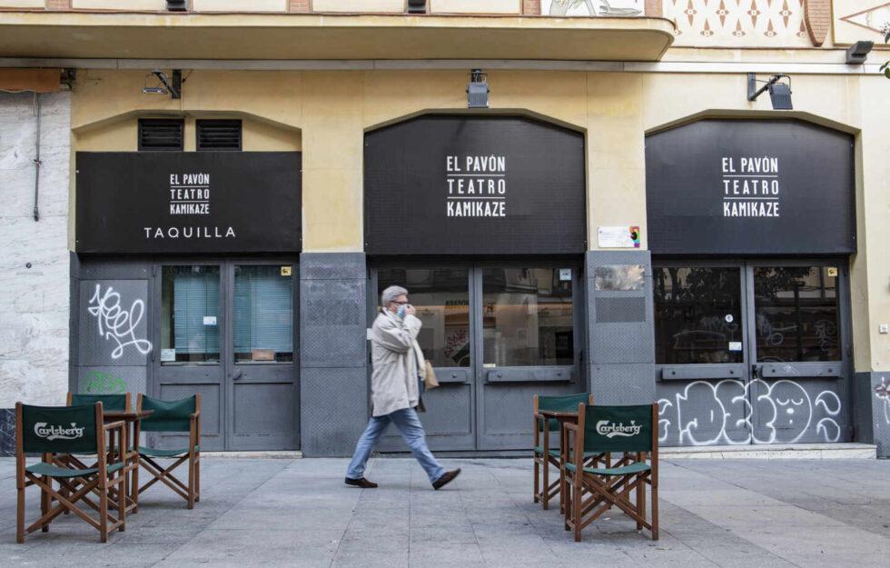 El Pavón Teatro Kamikaze, en el corazón del Madrid más castizo, vivió su última función el 30 de enero