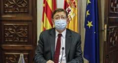 Ximo Puig, el president de la Generalitat Valenciana en una rueda de prensa