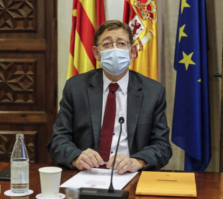 Puig pone fecha a la vacunación contra el coronavirus de los valencianos menores de 50 años