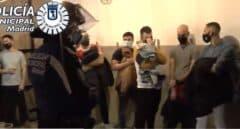 Local Chamberí con 75 detenidos