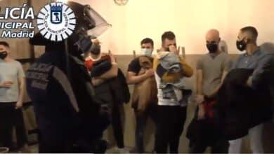 Desalojada una fiesta con 75 personas y drogas en un local de Chamberí