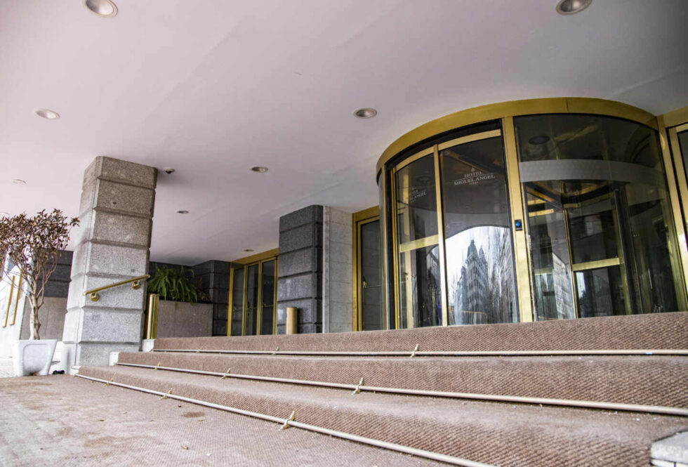 El hotel Miguel Ángel, un cinco estrellas, está cerrado hasta nuevo aviso