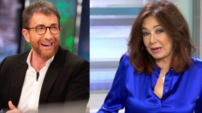 Pablo Motos y Ana Rosa Quintana