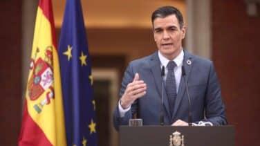 """Sánchez muestra su """"rechazo"""" por la """"conducta incívica"""" del Rey emérito"""
