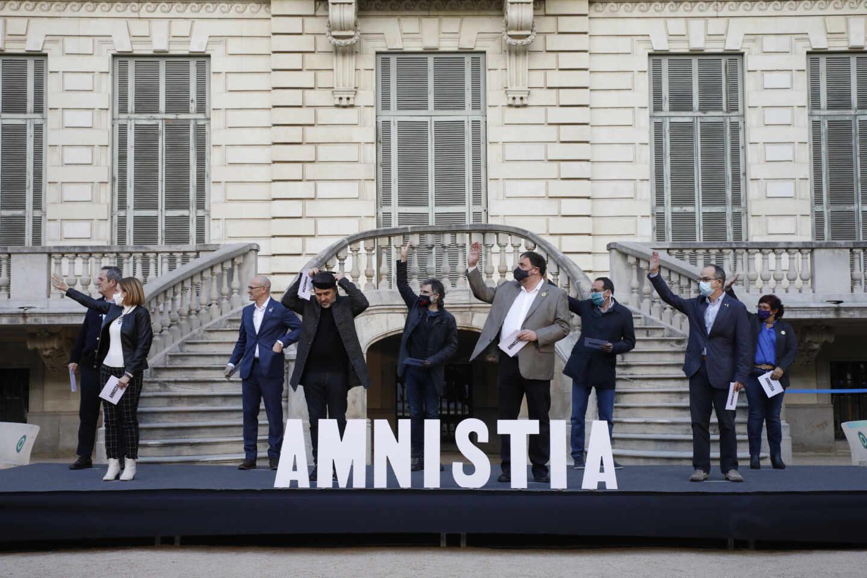 Los presos del procés, en Barcelona.