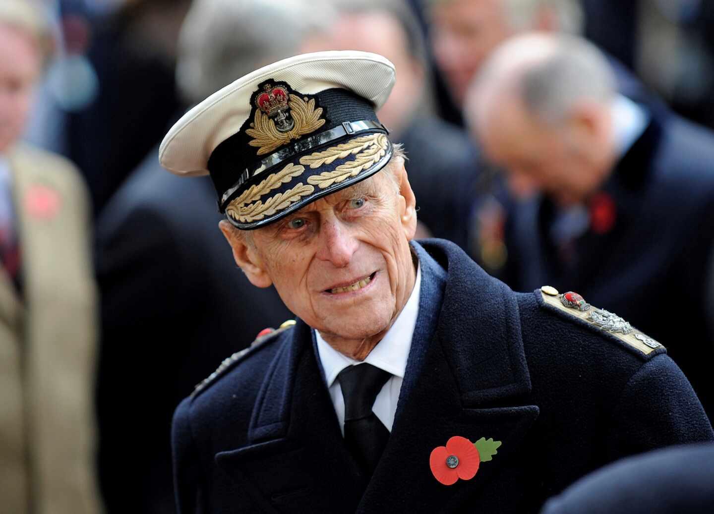 El príncipe de Edimburgo, en uno de sus actos oficiales