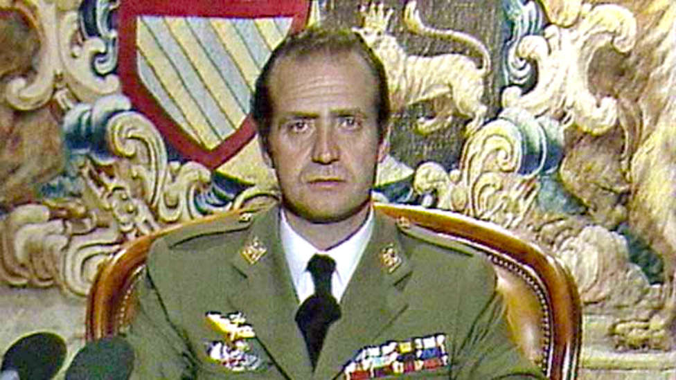 Discurso del Rey Juan Carlos el 23-F.