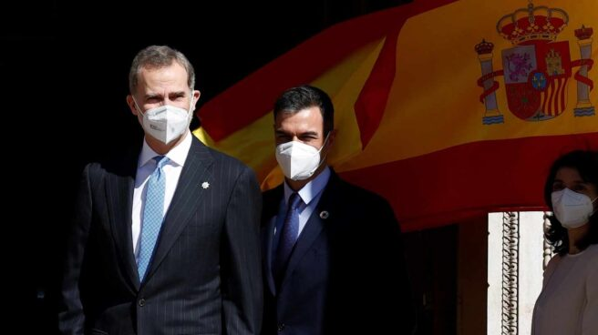 40 aniversario del 23-F: el Rey Felipe y Pedro Sánchez.