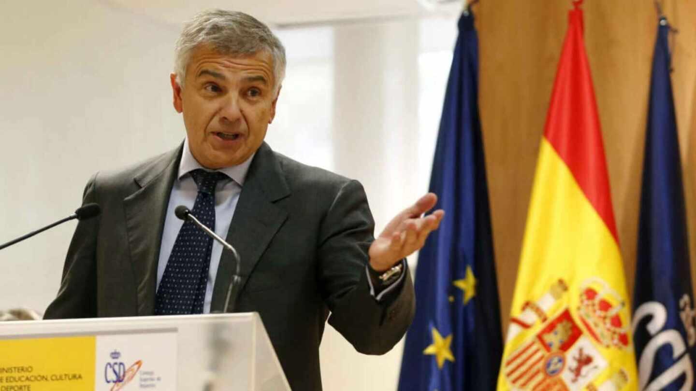 Juan Antonio Samaranch, vicepresidente del Comité Olímpico Internacional