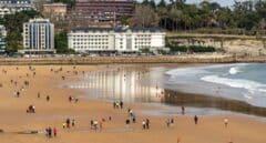 Playa de El Sardinero (Santander).