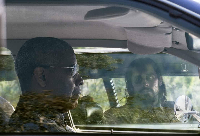 Denzel Washington y Jared Leto en 'Pequeños detalles'.
