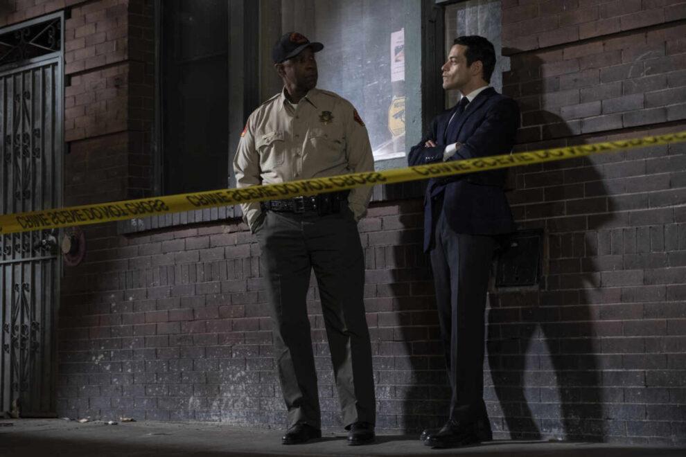 Denzel Washigton y Rami Malek en 'Pequeños detalles'