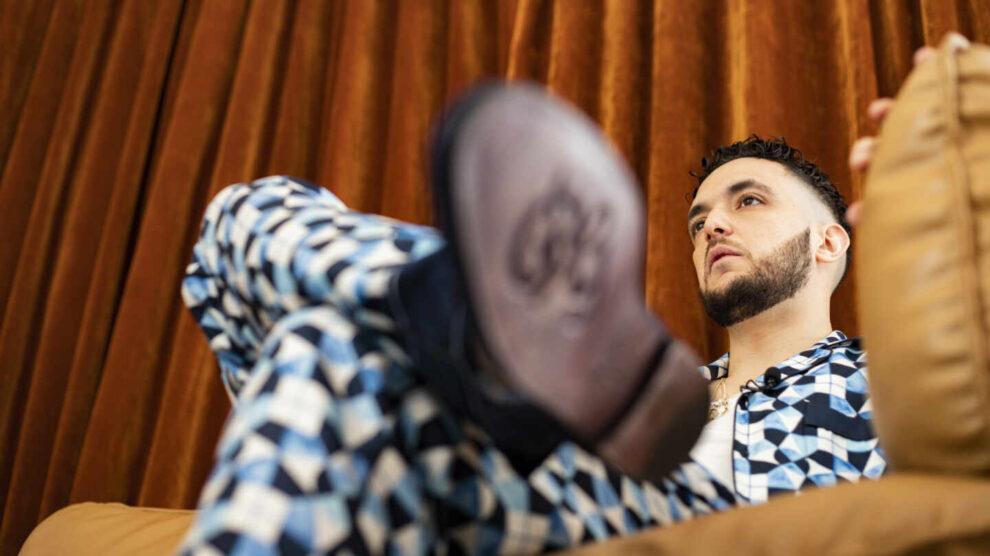 C. Tangana, durante la entrevista