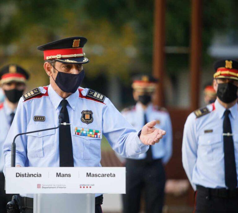 La defensa legal de los Mossos pasa directamente a Presidencia de la Generalitat para contentar a la CUP