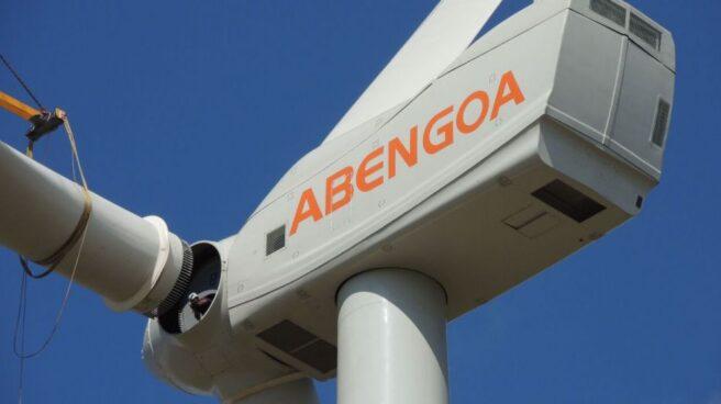 Un aerogenerador de Abengoa