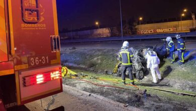Un hombre muere y una mujer resulta herida en un accidente en la M-50