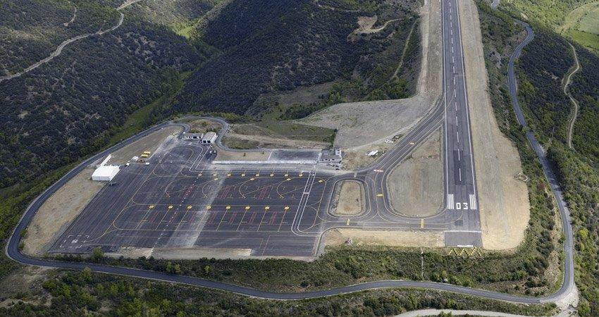 Aeropuerto Andorra-La Seu, en Lérida.