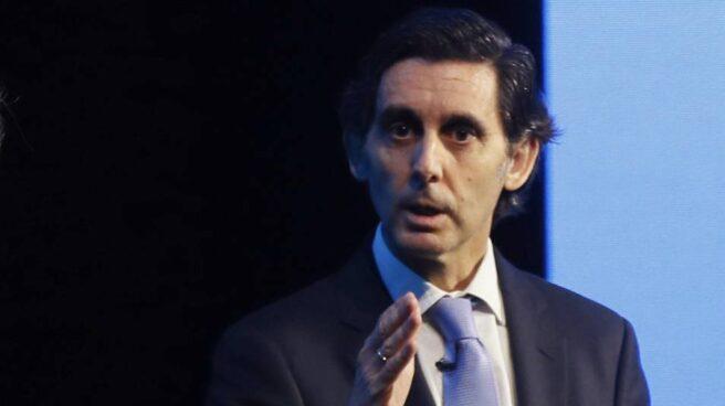 Álvarez-Pallete, presidente de Telefónica durante la presentación de resultados