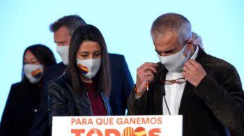Ciudadanos puede terminar el año en rojo tras perder el 80% de sus subvenciones en Cataluña
