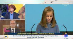TVE releva a los responsables del rótulo sobre la princesa Leonor