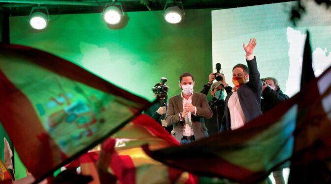 """Abascal cierra la campaña con una demostración de fuerza: """"Vox ya ha ganado en Cataluña"""""""