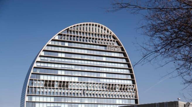 La Vela, sede de la Ciudad BBVA en Madrid.