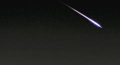 Una bola de fuego sobrevuela el sur de España a 213.000 km/hora