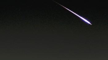 Una bola de fuego cruza Castilla-La Mancha y Andalucía a 96.000 km/hora