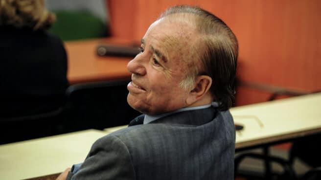 Imagen de el expresidente argentino Carlos Menem