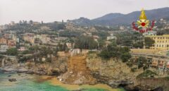 Un cementerio italiano se hunde y los ataúdes acaban en el mar
