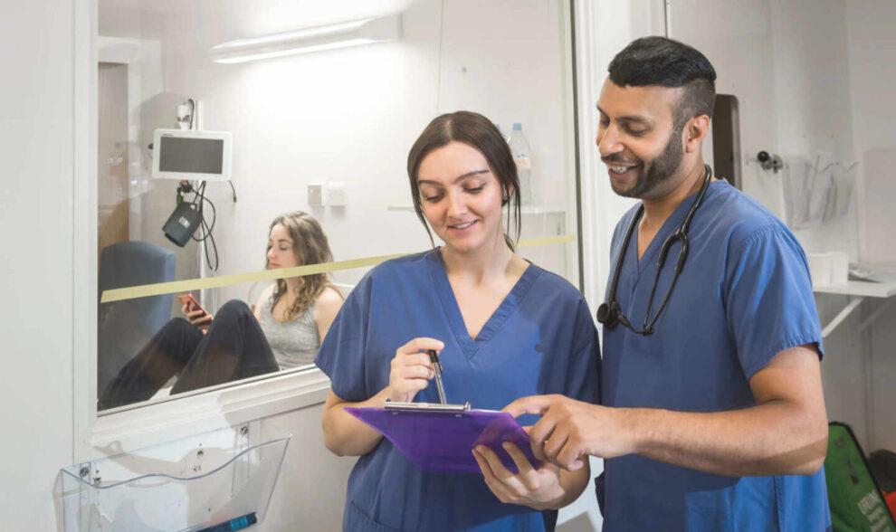 Imagen promocional del proyecto británico para infectar voluntarios.