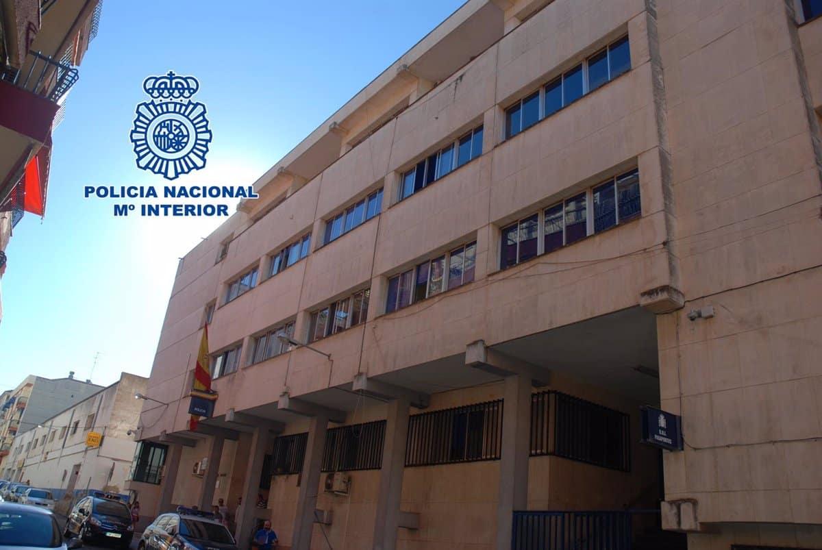 Comisaría de la Policía Nacional en Linares, Jaén.