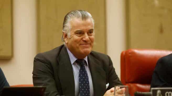 El ex tesorero del PP Luis Bárcenas en una comisión del Congreso de los Diputados en 2017.