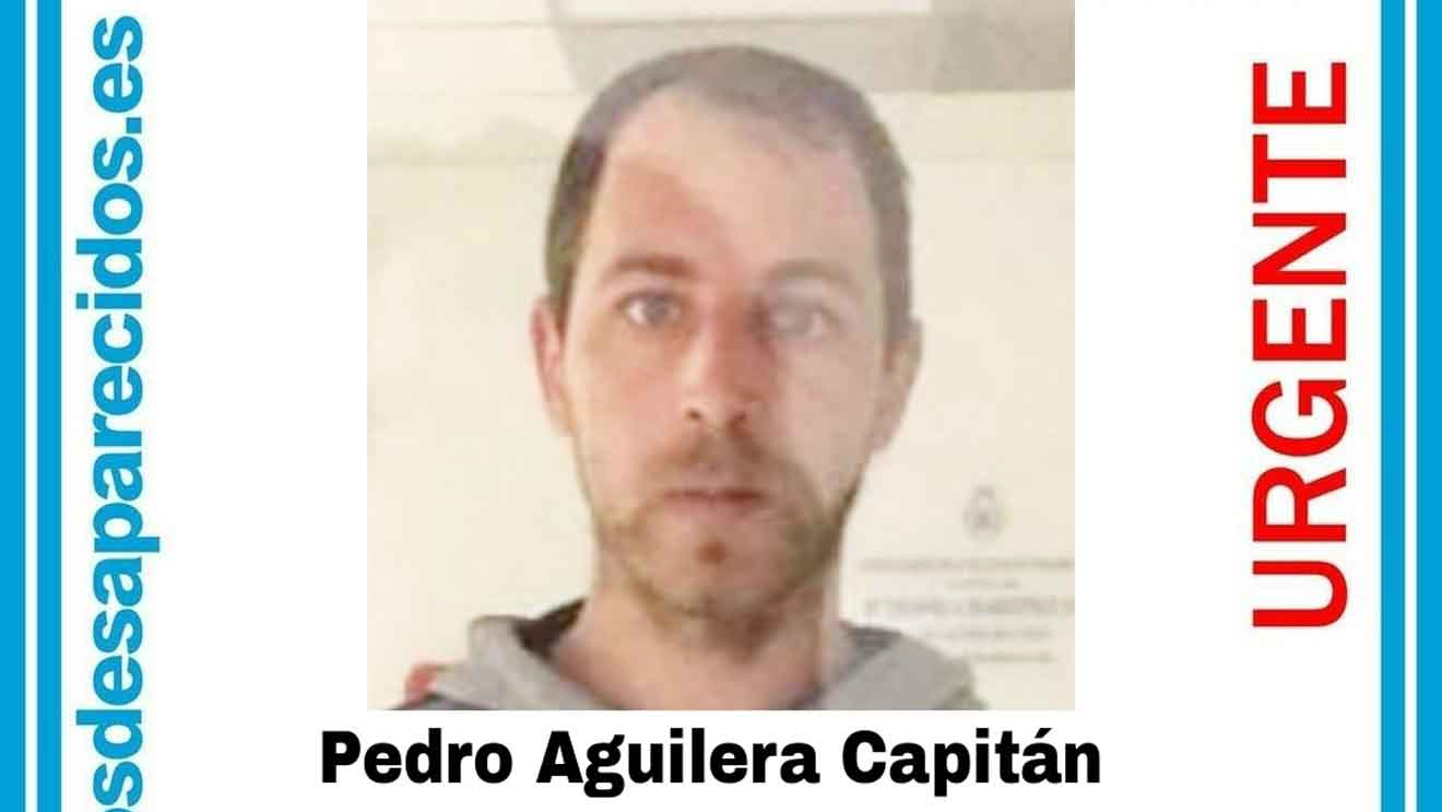 Pedro Aguilera Capitán, desaparecido en Coria del Río (Sevilla).