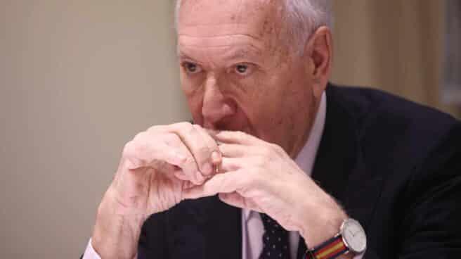 El ex ministro José Manuel García-Margallo, durante una entrevista.